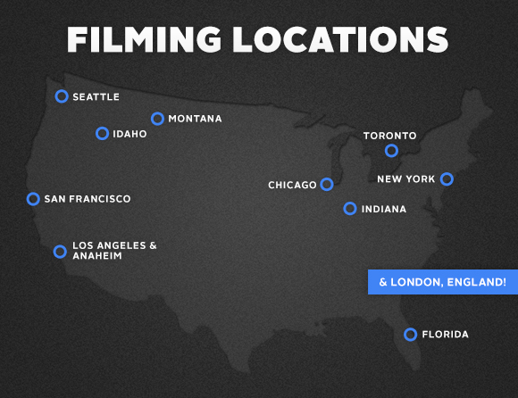 Tentative Filming Locations